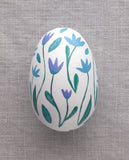 Tulips - Painted Egg