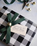 Personalized Calligraphy Gift Tag - Handmade by