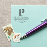 Large Initial Self-inking Stamp