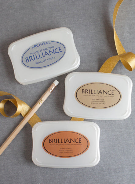 Brilliance Metallic Ink Pads