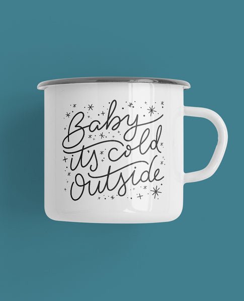 Baby It's Cold Outside Camp Mug