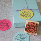 Knitted with Love - Gift Tag Stamp Set