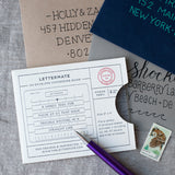 The Lettermate - Envelope Addressing Template