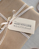 Made with Love Modern Gift Tag Stamp
