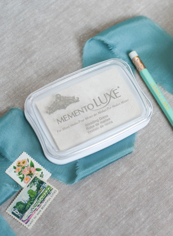 Memento Luxe White Ink pad