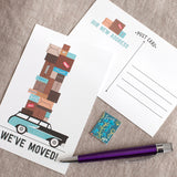 Pack the Car - Moving Postcard set of 15