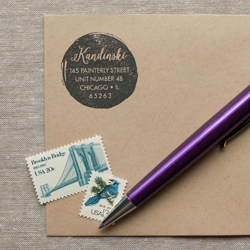 Paint Spot - Self-inking Stamp