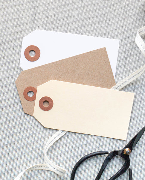 Blank Gift Tags - Set of 25