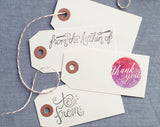 Parcel Tags - Set of 25
