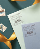 Happy Hanukkah Address Stamp