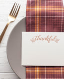 I'm Thankful For - Thanksgiving Place Cards