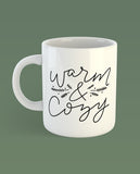 Warm and Cozy Camp Mug