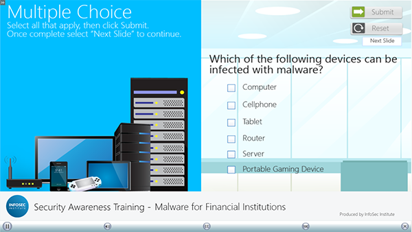 Malware for Financial Institutions