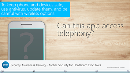 Mobile Security for Healthcare Executives
