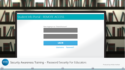 Password Security for Educators