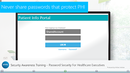Password Security for Healthcare Executives