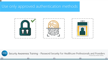 Password Security for Healthcare Professionals and Providers