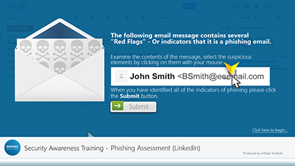 Phishing Assessment (LinkedIn) w/Hints