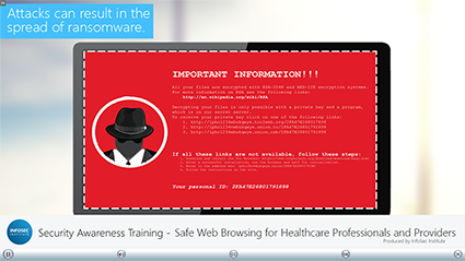 Safe Web Browsing for Healthcare Professionals and Providers