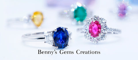 coloured stones ring