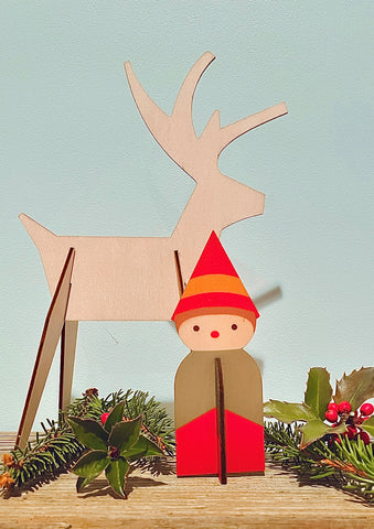 elves and reindeer