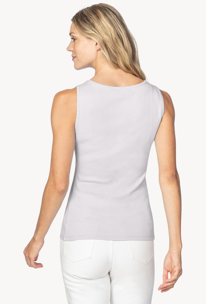 classic boatneck tank top
