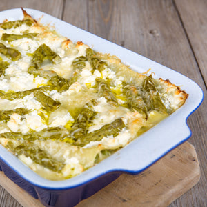 Asparagus and Brie Cheese Lasagne