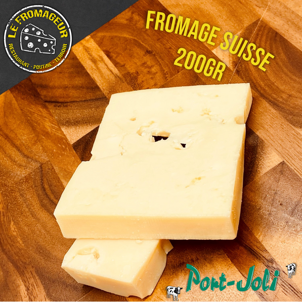 Fromage suisse - 200gr