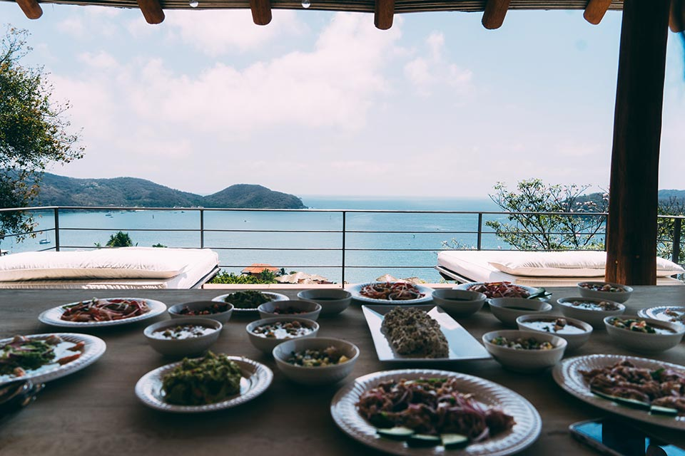 Behind the Scenes in Zihuatanejo, Mexico