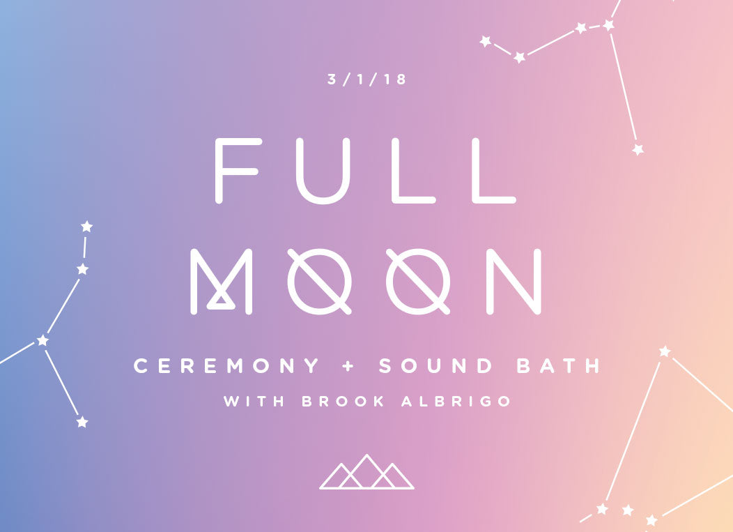 Full Moon Ceremony + Sound Bath at Prism Boutique