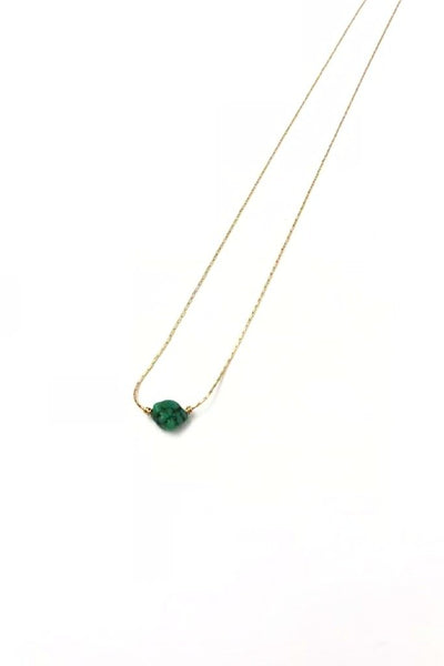 Green Turquoise Itty Bitty Necklace