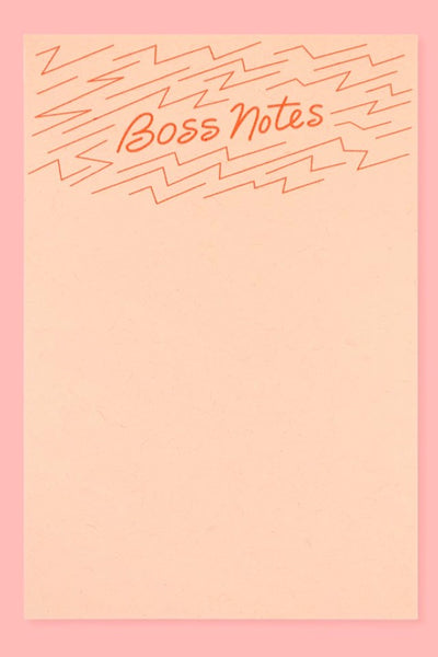 Boss Notes Notepad