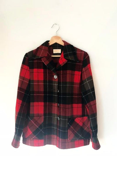 Pendleton Plaid Jacket