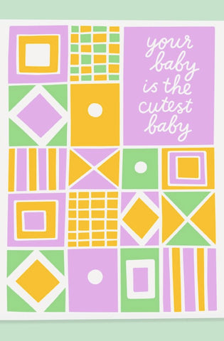 Greeting cards prism boutique cutest baby card m4hsunfo Gallery