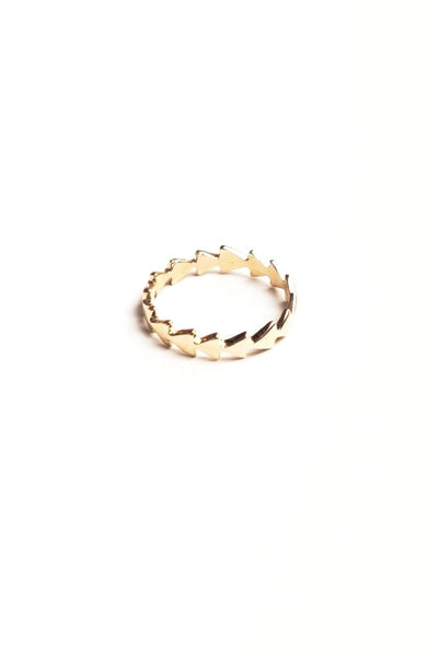 Gold Follow The Arrows Ring