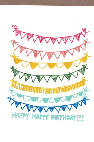 Bday Flags Card
