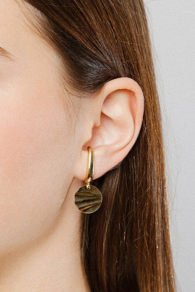 Gold Frances Earrings