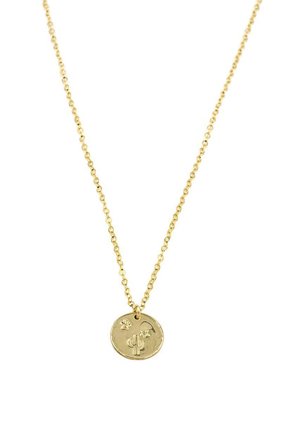 Gold Coin Desert Necklace