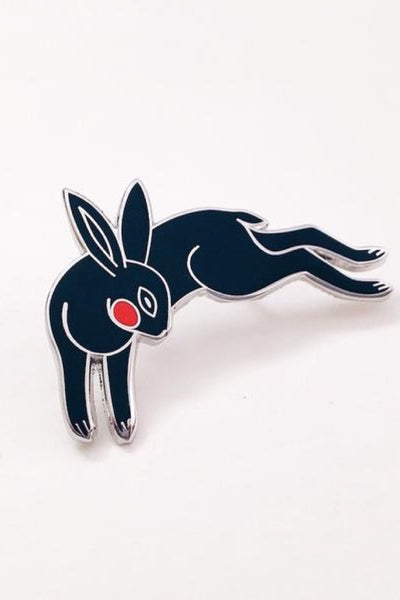 Black Rabbit Pin