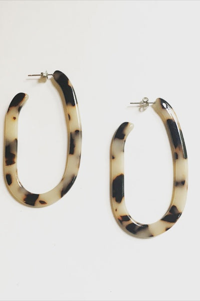 Ash Blonde Margot Hoops