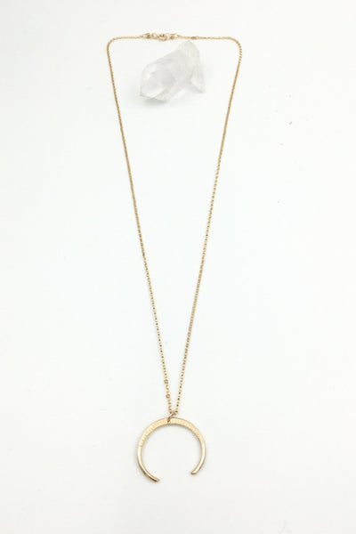 Gold Mini Naja Necklace