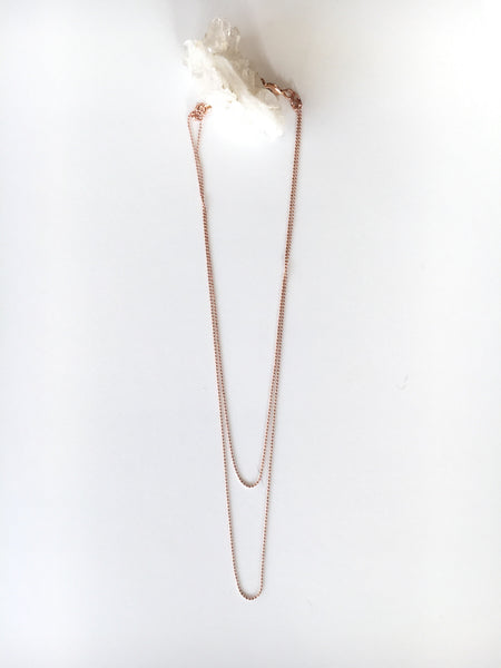 Rose Gold Camille Necklace