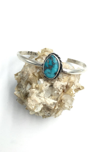 Lone Star Pyrite Turquoise Stacker