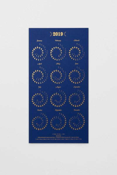 Navy Many Moons Calendar