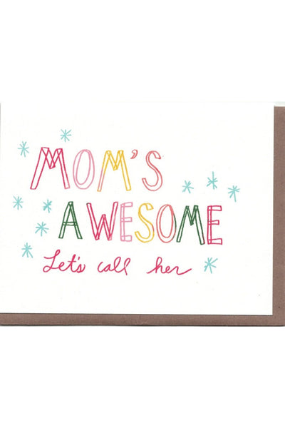 Mom's Awesome Card