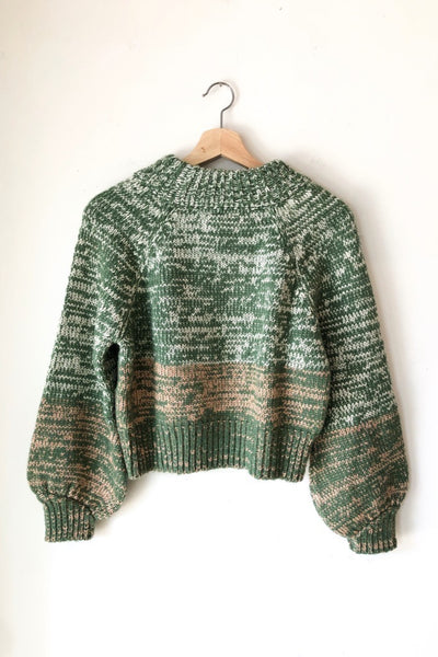Green Cordova Sweater