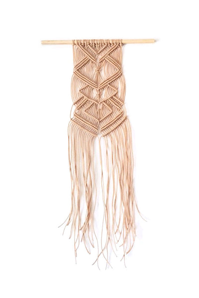 Diamond Echo Macrame Wall Hanging
