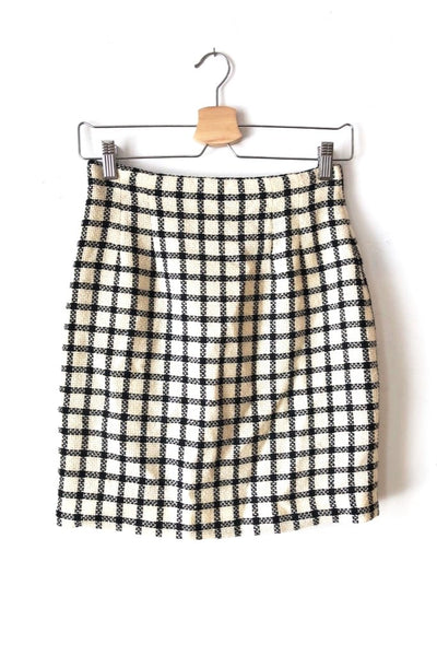 Cher Plaid Skirt