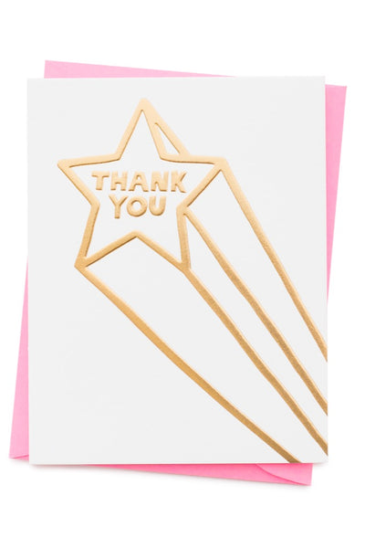 Thank You Star Card