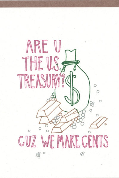 Treasury Cents Card